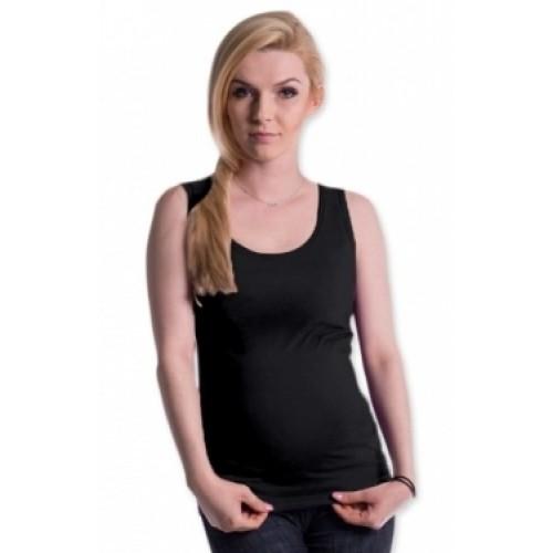 Be MaaMaa Tehotenské, dojčiace tielko s odnímateľnými ramienkami - grafitové