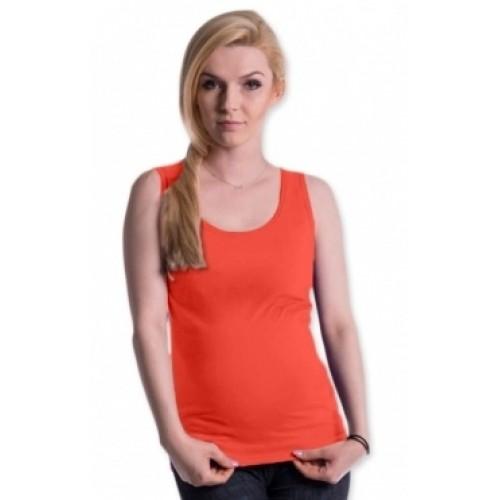 Be MaaMaa Tehotenské, dojčiace tielko s odnímateľnými ramienkami - pomeranč