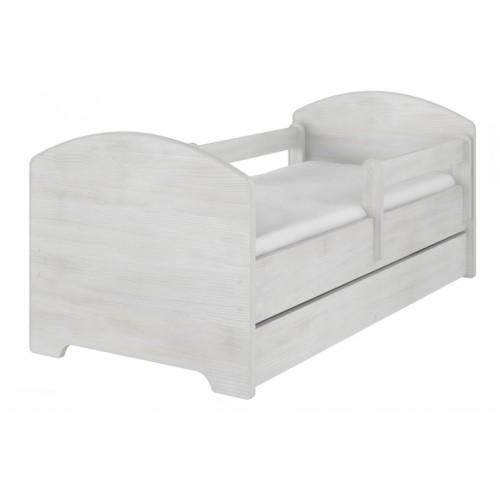 NELLYS Dětská postel SABII v barvě norské borovice s šuplikom 160x80 + matrac zadarmo, D19