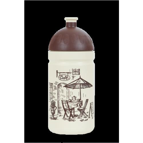 R&B Mědílek s.r.o. Zdravá fľaša - 0.5l - Káva, biela