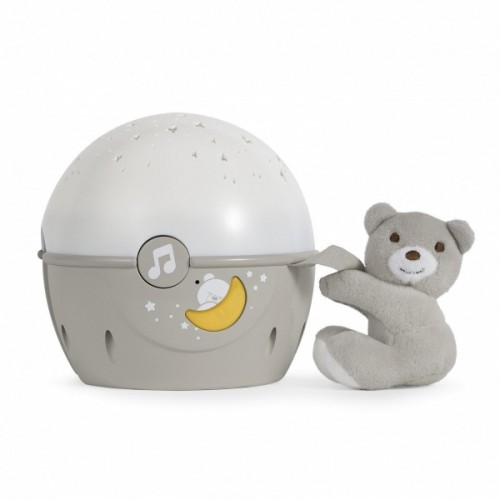 Chicco  Projektor s melódiou Next 2 Stars - Medvedík bežový